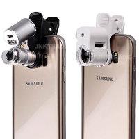 스마트폰 현미경 확대경 60배율 휴대폰 돋보기
