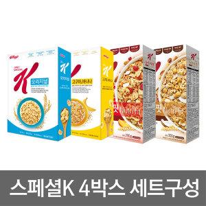 스페셜K 4박스세트 이시영의 다이어트/여름준비