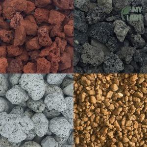 마이플랜트 가벼운돌 마사토 화산사 산호사 분갈이흙
