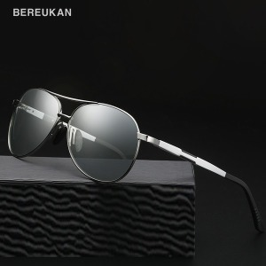 BEREUKAN  편광 선글라스 등산/낚시 BER-6695변색편광