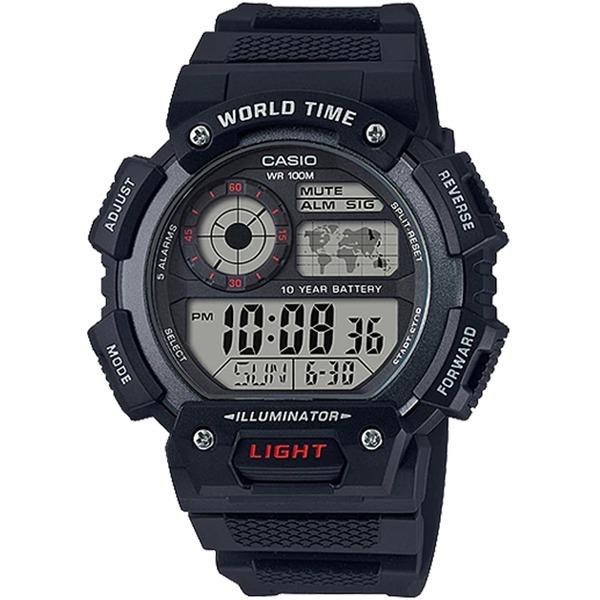 카시오정품 AE-1400WH-1A 스포츠전자손목시계 방수
