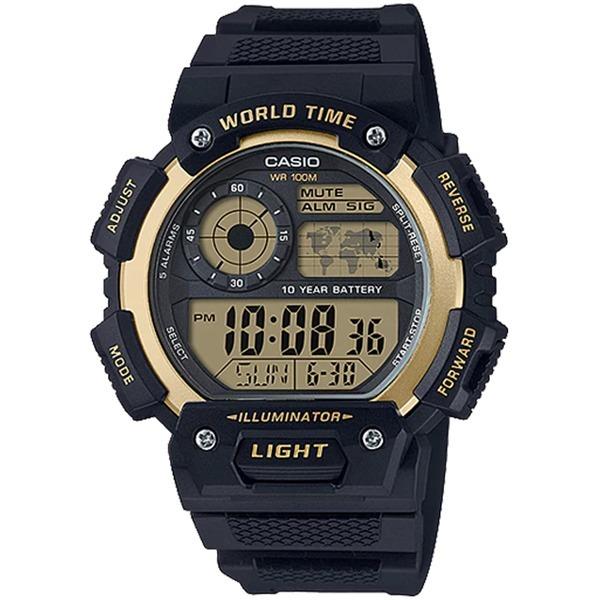 카시오정품 AE-1400WH-9A 스포츠전자손목시계 방수