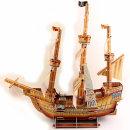킹콩 종이모형 대형 해적선 범선 3D퍼즐 종이만들기