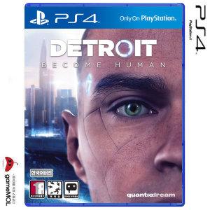 PS4 디트로이트 비컴 휴먼 한글판 /PS4테마 동봉