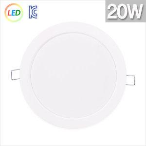 국내산 LED다운라이트 20W 6인치 주광색/주백색/전구