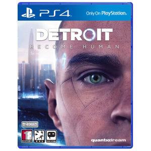 PS4 디트로이트 비컴 휴먼 한글판