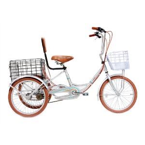 나누미 에코 성인 세발 삼륜자전거 18년 신상품 정품