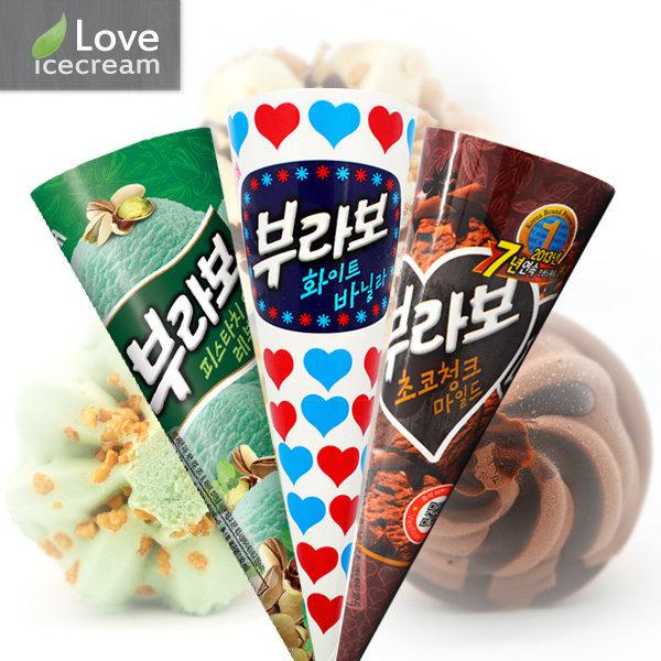 (아이러브아이스크림) 부라보콘 아이스크림 (24개) 3종 골라담기