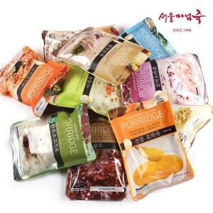 간편한 서울마님죽(1팩 500g) 3+1SET 무료배송