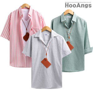여름셔츠/반팔셔츠/7부셔츠/체크남방/스트라이프