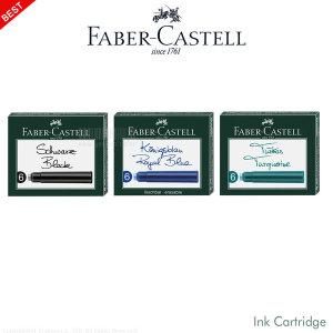 (리필)파버카스텔 NEW 잉크 카트리지(6입/색상선택)