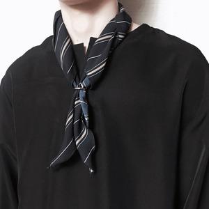 남자 패션 목걸이 링 스카프 남성 여름 스카프