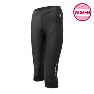 WMP7-BLACK/ 여성용/ 패드 7부 자전거 바지_블랙 / MCN