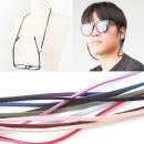 패션 안경 줄 선글라스 돋보기 끈 걸이 고리 스웨이드