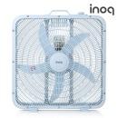 이노크 선풍기 IA-B20B 20인치 박스팬 블루 업소용