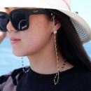 비즈 안경 줄 패션 돋보기 선글라스 걸이 고리 에폭시