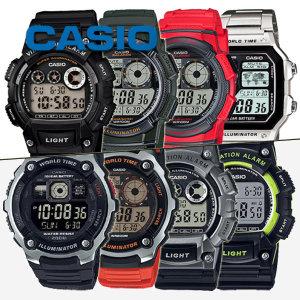 카시오정품 W-735H-1A 전자시계 손목시계 군인시계