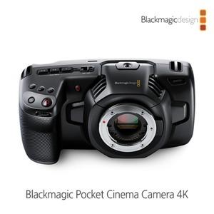 정품/ 블랙매직 Pocket Cinema Camera 4K /예약판매