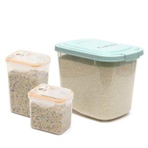 셰프웨어 기획세트 쌀통10kg+잡곡통2개 총3종세트