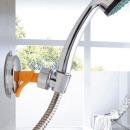 원터치 샤워기 거치대 흡착식 홀더 걸이 각도조절
