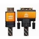 프리미엄 골드 HDMI to DVI 듀얼 1.4 (1.2m)