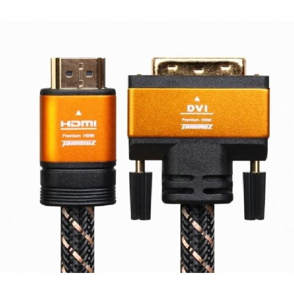 타무즈 타무즈 HDMI to DVI-D (1.4v) 케이블 5M