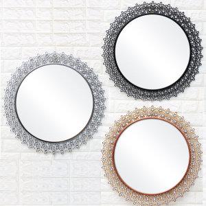 인테리어벽거울 해바라기보석/화장대 욕실 화장실거울