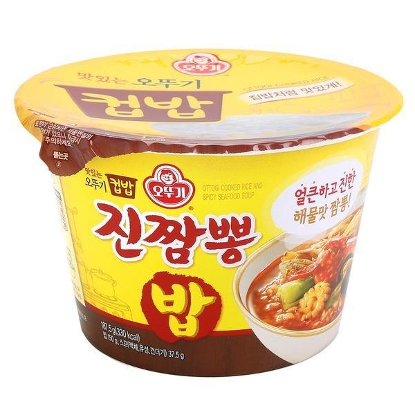 맛있는 오뚜기 컵밥 진짬뽕밥 187.5g