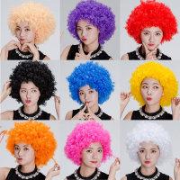 점보가발/파티소품/뽀글이/파마/코믹/아프로/이벤트/