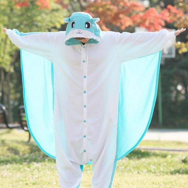사계절동물잠옷-민트날다람쥐(사자크동물잠옷)(무료배