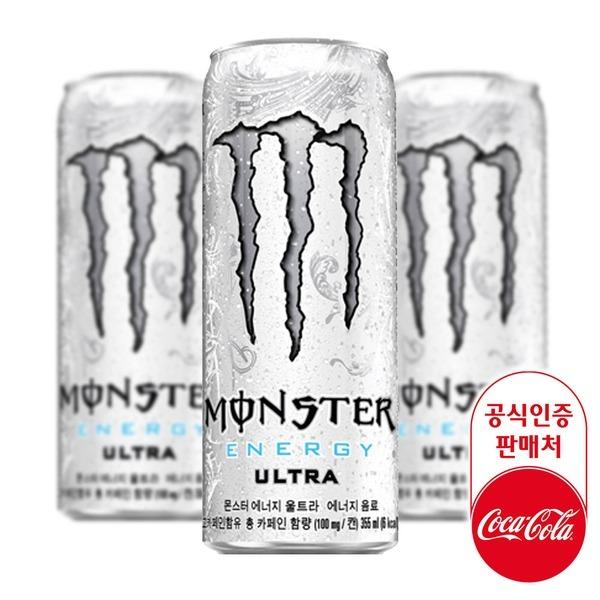 몬스터 에너지 울트라 355ml CAN X24입 코카콜라 탄산