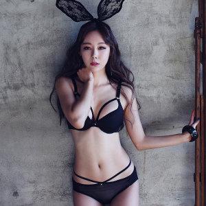 글램공감/브라1+팬티2/섹시속옷/버블돌/브라팬티