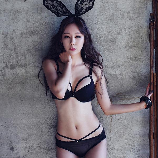 글램공감/브라1+팬티2/속옷세트/빅사이즈/브라팬티