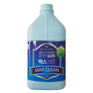 살균 소독제/맥스크린4L /무독성 살균제