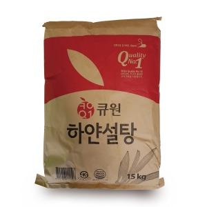 설탕 하얀설탕 15kg 카페 쿠키 양봉 매실청 오미자