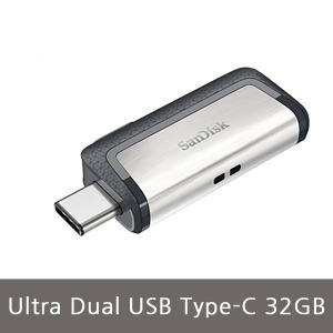 샌디스크 정품 울트라 듀얼 otg C타입 32GB dual otg