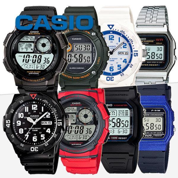정품 카시오 AE-1000W-1A 전자시계 군인시계 손목시계