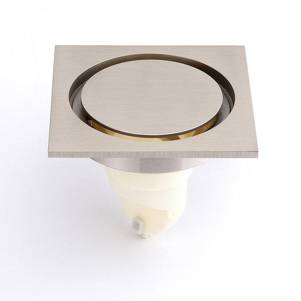 고급형 원형 트랜치 니켈 무광 100x100 고급육가 육가
