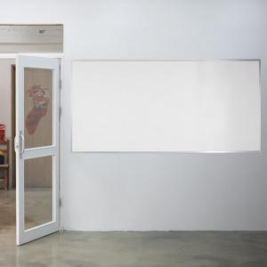 대형 난반사 벽걸이 유리칠판(무광 color)2400x1200mm