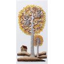 인테리어 부조 장식 벽걸이 그림 액자 부엉이집(대)