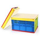 접이식 폴딩박스+우드상판 일반형/캠핑박스/캠핑테이블
