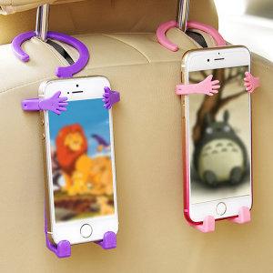 핸드폰 거치대 받침대 실리콘재질로 모양 변형가능