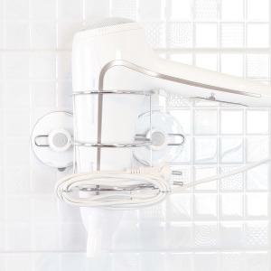 글라스터 스텐 욕실 헤어 드라이기 거치대 흡착 용품