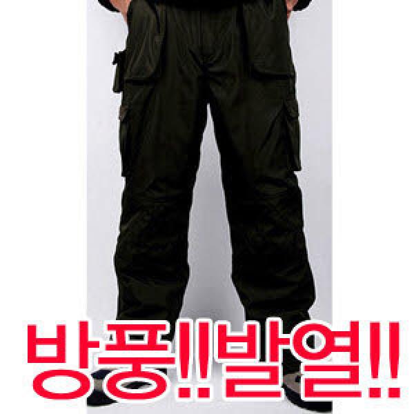 동계방한 솜바지/패딩 방한복/방풍/야간야외복