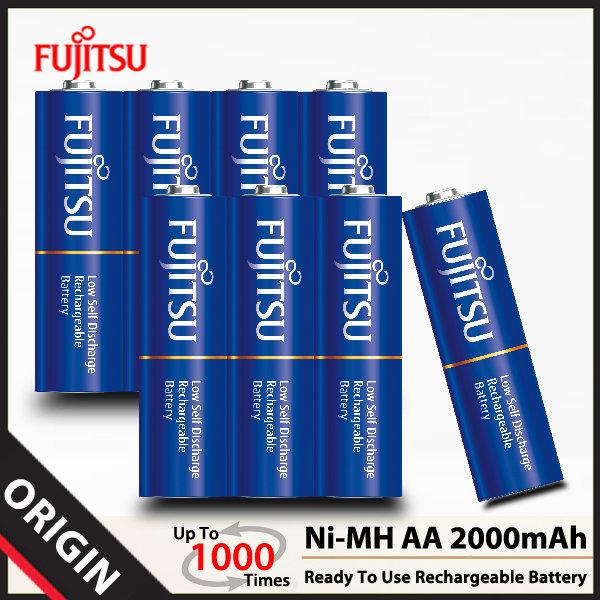 후지쯔 Ni-MH AA 2000mAh 셀렉트 충전지 (8알)/배터리