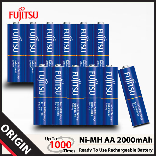 후지쯔 Ni-MH AA 2000mAh 셀렉트 충전지(12알)/배터리