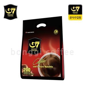 베트남 G7 블랙커피 200개입 대용량 신제품