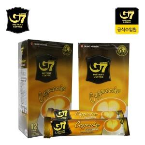 G7커피 카푸치노 헤이즐넛 12T 수출용