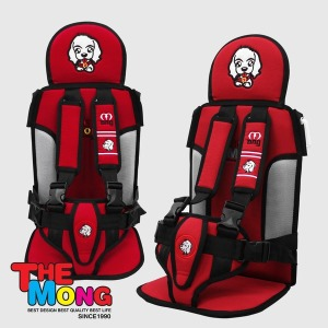 영유아 카시트 어린이집 통학차량 보조시트 W3 - 레드