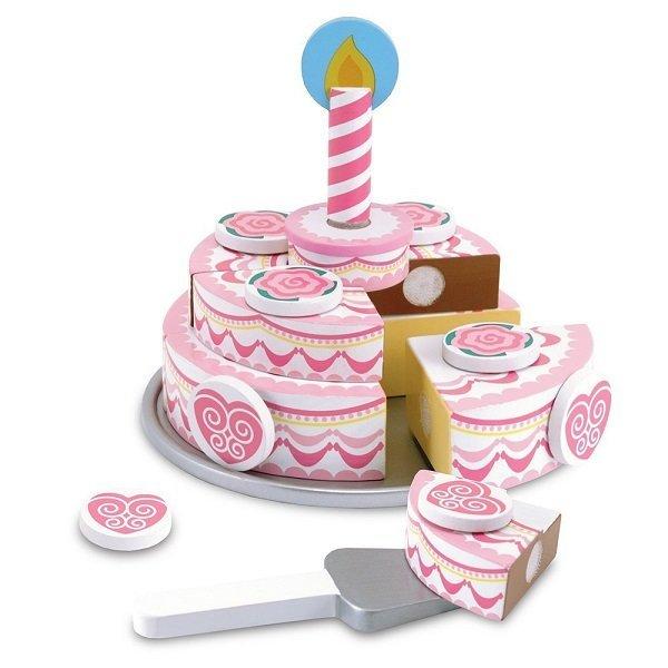 멜리사앤더그 3단 케이크 음식 주방 놀이 소품 장난감